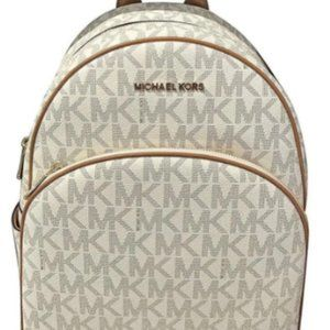 Michael Kors Vanilla Backpack